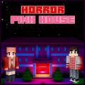 恐怖的粉红色房屋