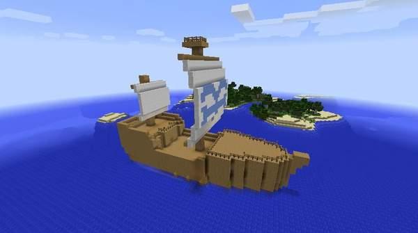 我的世界海贼王mod截图