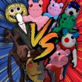 警笛头vs小猪大战
