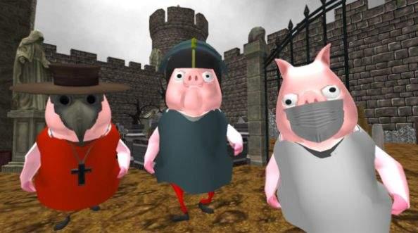 小猪的邻居医生游戏