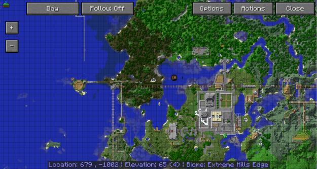 我的世界1.12.2旅行地图模组