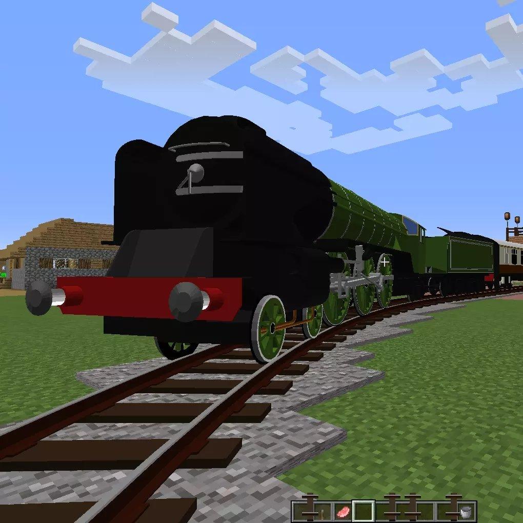 我的世界沉浸铁路