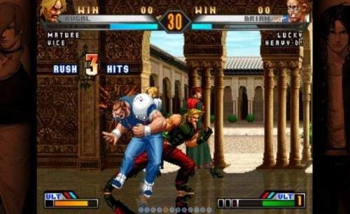 拳皇98完整版截图