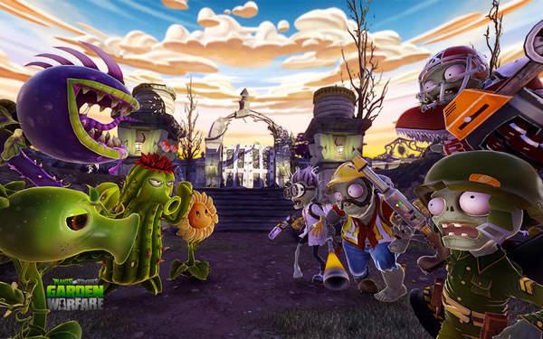 植物大战僵尸3D版手机版下载_植物大战僵尸3D版花园战争免费下载