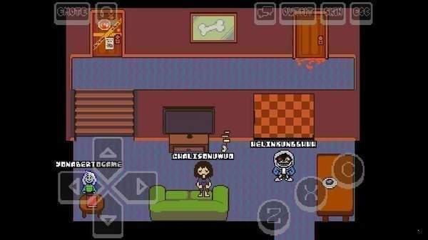 传说之下子弹地狱sans无敌版为玩家们带来了经典像素风的冒险手游