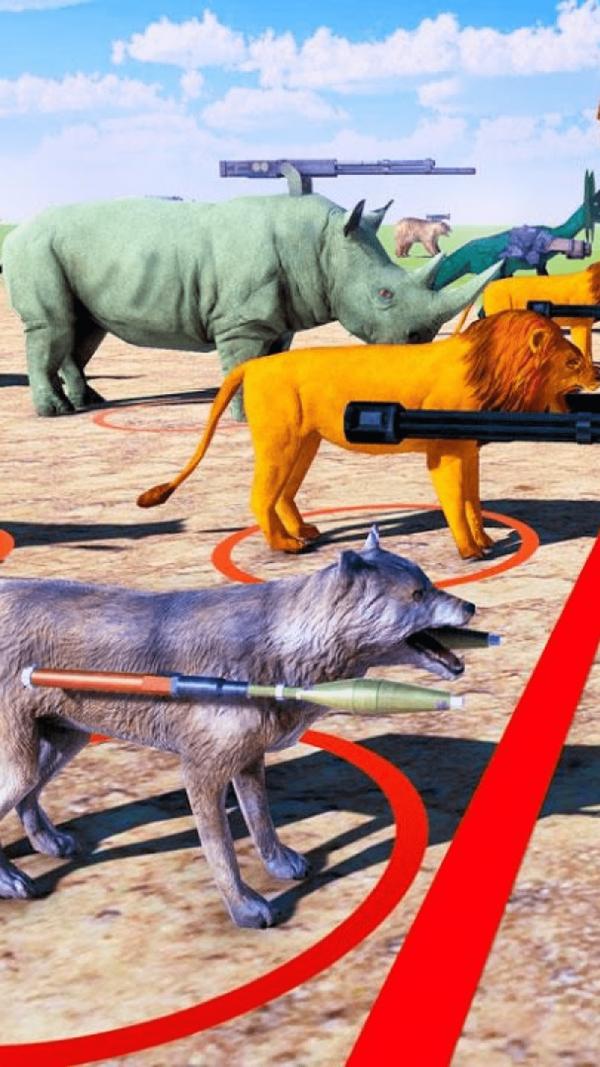 动物王国大战恐龙为玩家带来了精彩的对战冒险手游